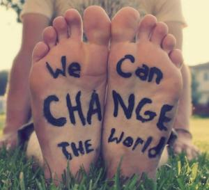 We can change the wolrd