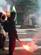 manifestación en Andalucía